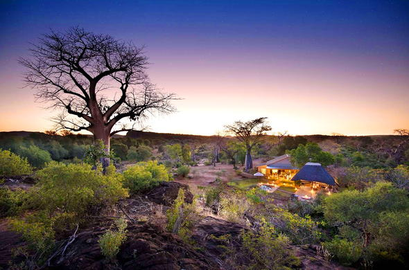 Baobab Hill Bush House in Makuleke Contract Park, Kruger Park.