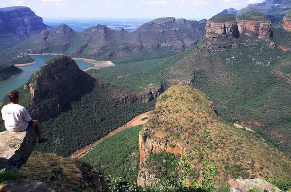 Blyde River Canyon on the Panorama Route.