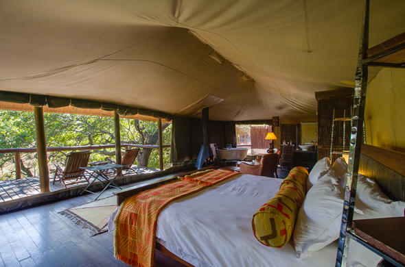 Camp Shonga accommodation in Kruger Park.