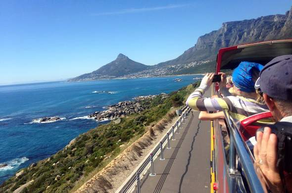 Explore Cape Town on the City Sightseeing Bus.