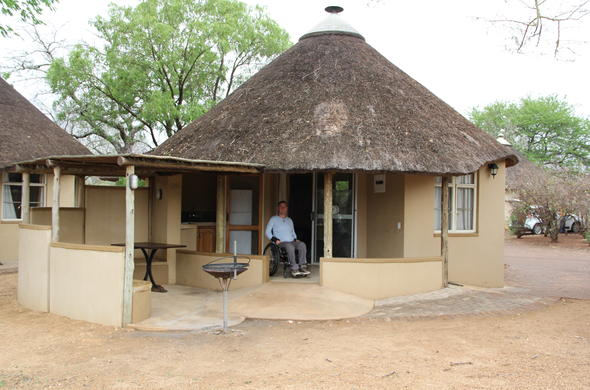 Comfortable Bungalow accommodation adapted for disabled travellers.