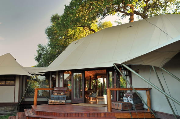 Hamiltons Tented Camp in Kruger National Park.