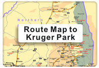 Kruger Park Route map