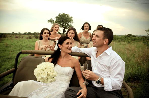 Kruger Park Safari Wedding.