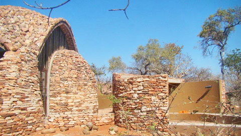 Exterior view of the Mapungubwe Interpretation Centre.