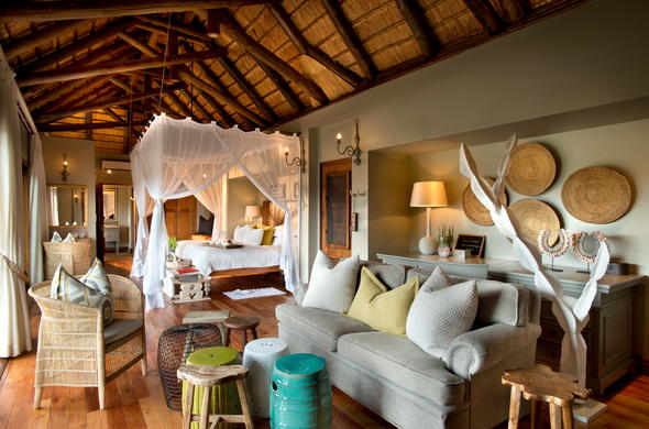 Luxurious Kruger accommodation is offered at Lion Sands Narina Lodge.