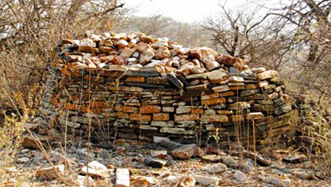 A view of the Machemma Ruins in the Greater Mapungubwe heritage Route.