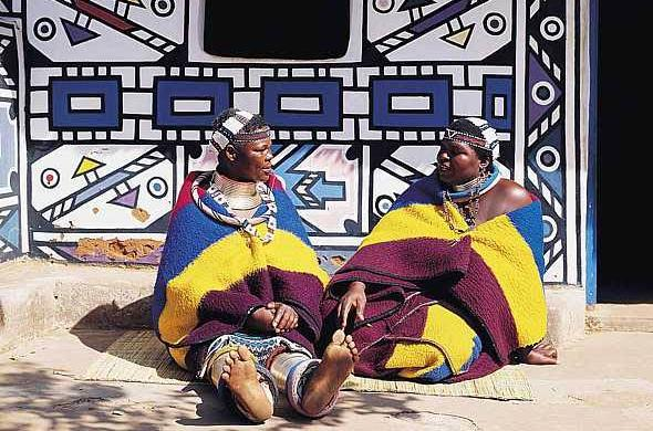 Ndebele Tribe of Africa | Color meanings, Pattern meaning, Symbols ... | 390x590