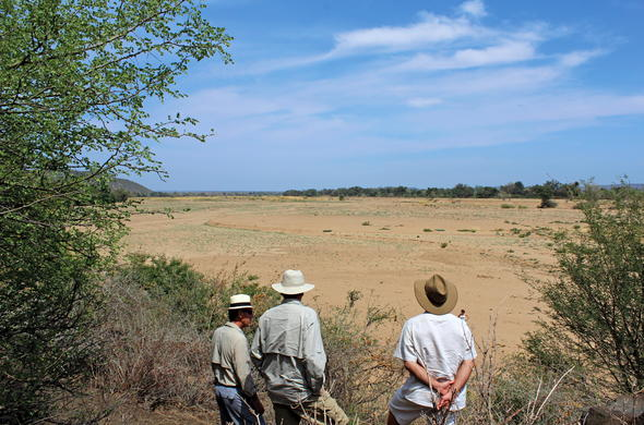 Stunning views during a Kruger Park walking safari.
