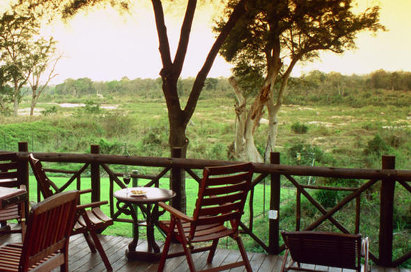 View from deck at your Kruger Park Hotel.