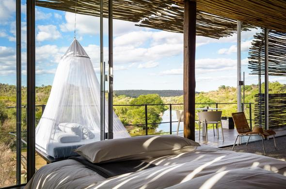 Luxury accommodation in the Kruger National Park.