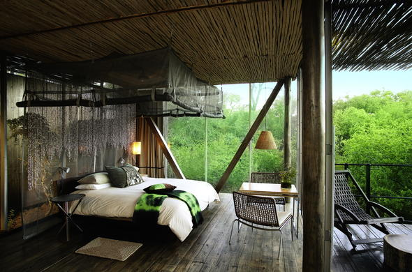 Luxury Kruger Park accommodation at Singita Sweni.
