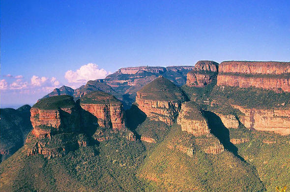Three Rondawels. Mpumalanga